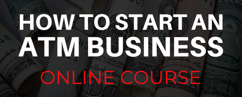 How to start an ATM business - online course
